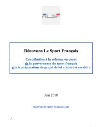 rapport Rénovons Le Sport Français - RLSF
